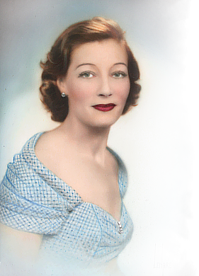 image of a vintage woman